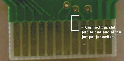 Modifications on the bottom side of the PCB