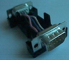 The adapter in its casing