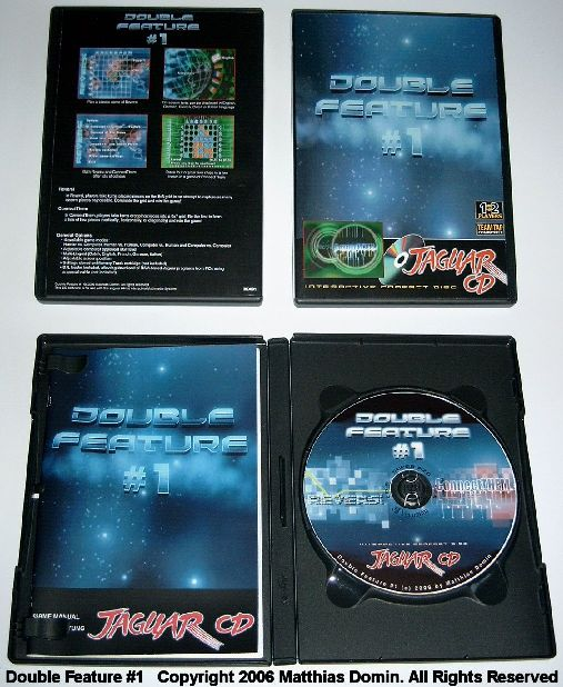 DoubleFeature#1 DVD-Box, Manual and CD