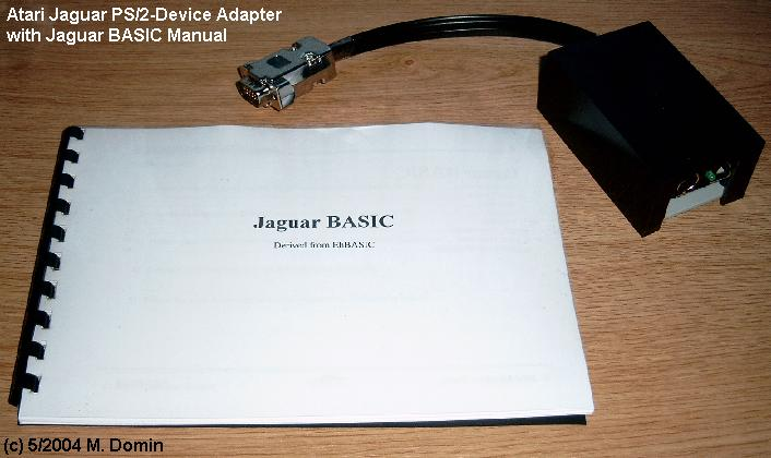 JagBASIC-manaul and PS/2-adaptor