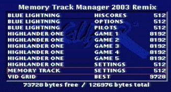 MT Manager 2003 Remix startscreen